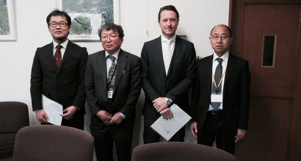 Ikuma Adachi and Andrew MacIntosh receive tenure at Kyoto University