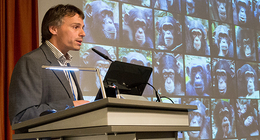 Fabian Leendertz at the German Symposium on Zoonoses Research in 2014